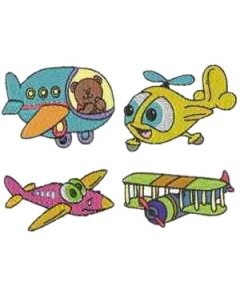 30 set Air Planes Embroidery Design