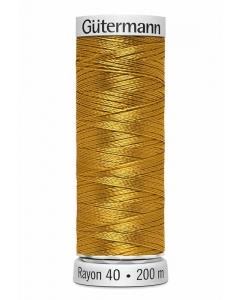 Gutermann Sulky Rayon Thread 200m (1025) Mustard Gold
