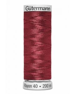 Gutermann Sulky Rayon Thread 200m (1034) Burgundy