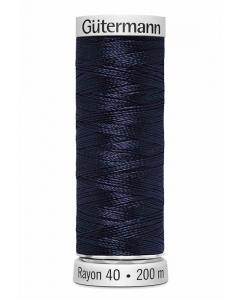 Gutermann Sulky Rayon Thread 200m (1043) Navy Black