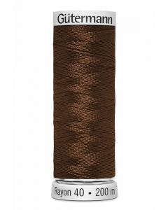 Gutermann Sulky Rayon Thread 200m (1057) Chestnut