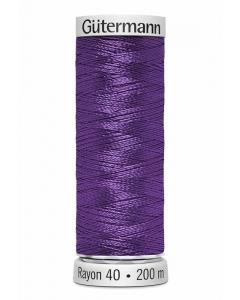 Gutermann Sulky Rayon Thread 200m (1122) Purple