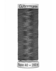 Gutermann Sulky Rayon Thread 200m (1166) Mid Gray