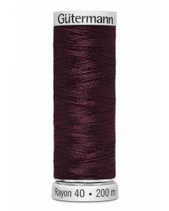 Gutermann Sulky Rayon Thread 200m (1189) Dark Wine