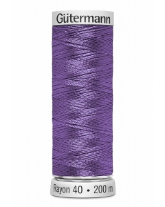 Gutermann Sulky Rayon Thread 200m (1194) Mid Lavender