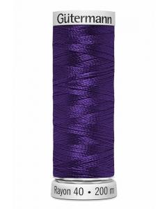 Gutermann Sulky Rayon Thread 200m (1195) Blue Purple