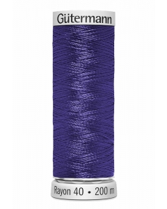 Gutermann Sulky Rayon Thread 200m (1235) Dark Heather