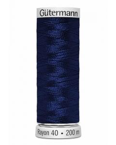 Gutermann Sulky Rayon Thread 200m (1293) French Blue