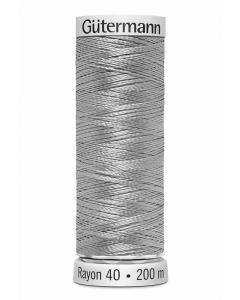 Gutermann Sulky Rayon Thread 200m (1327) Pale Cloud Gray