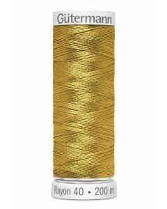 Gutermann Sulky Rayon Thread 200m (567) Gold Popcorn