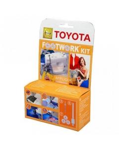 Toyota Footwork Applique