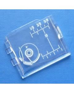 Janome sliding bobbin cover plate