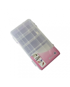 Small Size Plastic Storage Box With 15 Compartments