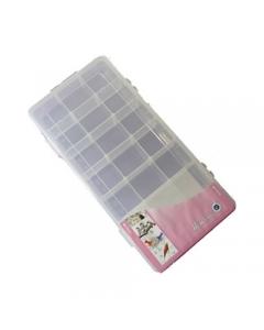 Medium Size Plastic Storage Box With 21 Compartments