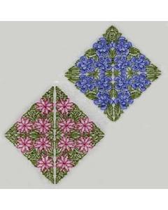 24 set Vintage Quilting Diamonds Embroidery Design