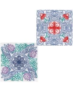 18 set Vintage Quilting Blocks Embroidery Design
