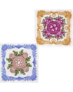 20 set Vintage Victorian Blocks Embroidery Design