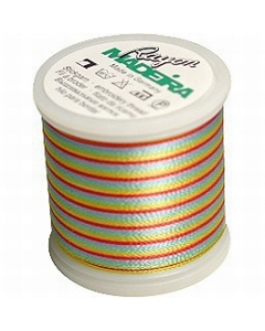 Madeira Multi Rayon Thread 200m - 2147 Lavender/ Red/ Yellow/ Green