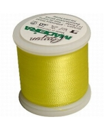 Madeira Machine Embroidery Rayon Thread - 1223 Mimosa Yellow