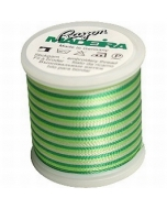 Madeira Variegated Rayon Thread 200m - 2031 Bright Greens