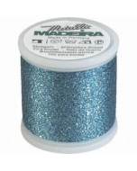Madeira Metallic Supertwist 200m - 33 Ocean Mist Blue
