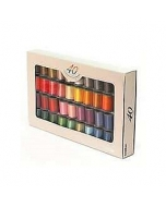 Brother Country Matt Finish Embroidery Threads Set of 40 Threads