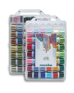 Madeira Threadable Embroidery Box with 80 Rayon Threads