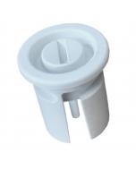 Roller press water tank drain plug