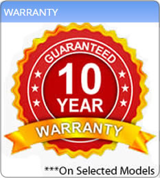 Up to 10 Years Warranty