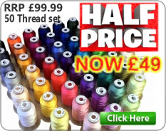 HALF PRICE Thread set