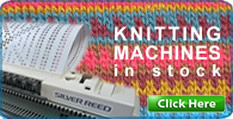 Knitting machine selection