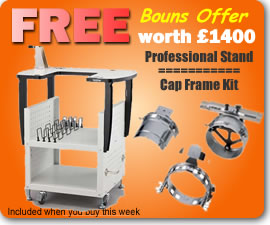 Free Professional stand and Cap Frame