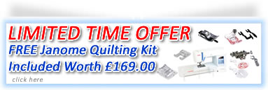 Free Quilting kit limited offer